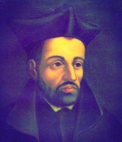 Św. Piotr Faber (1506 - 1546) (źr. library.fordham.edu)
