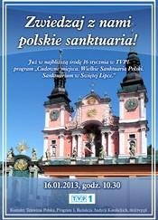 Sanktuarium w Świętej Lipce w TVP 1
