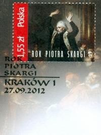 Ks. Piotr Skarga SJ na znaczku pocztowym