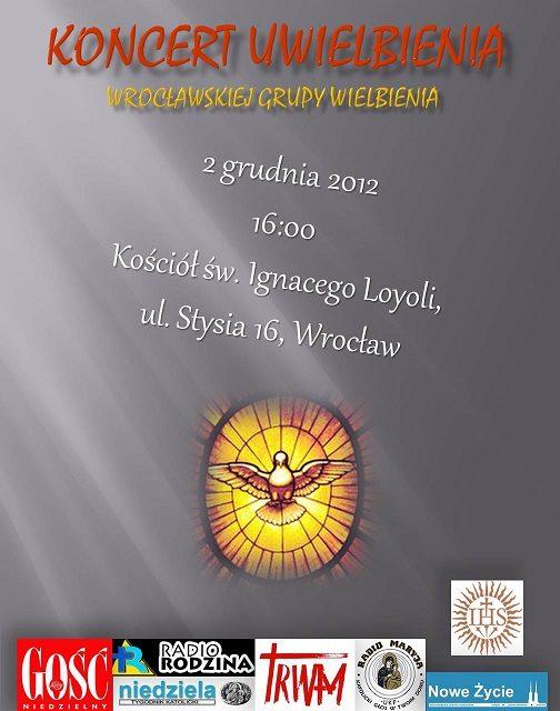 Koncert uwielbienia u Jezuitów we Wrocławiu