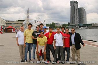 Uczniowie z Egiptu z wizytą w Gdyni