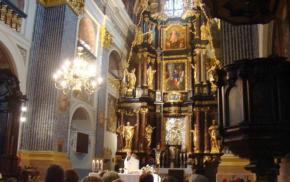 Msza w Świętej Lipce