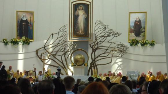 Beatyfikacja matek Zofii Czeskie i Małgorzaty Szewczyk w Łagiewnikach (fot. Anna Dziemska)