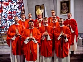 Święcenia diakonatu i prezbiteratu PMA.