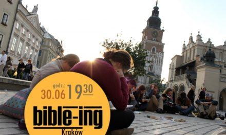 Czytali Biblię na krakowskim Rynku