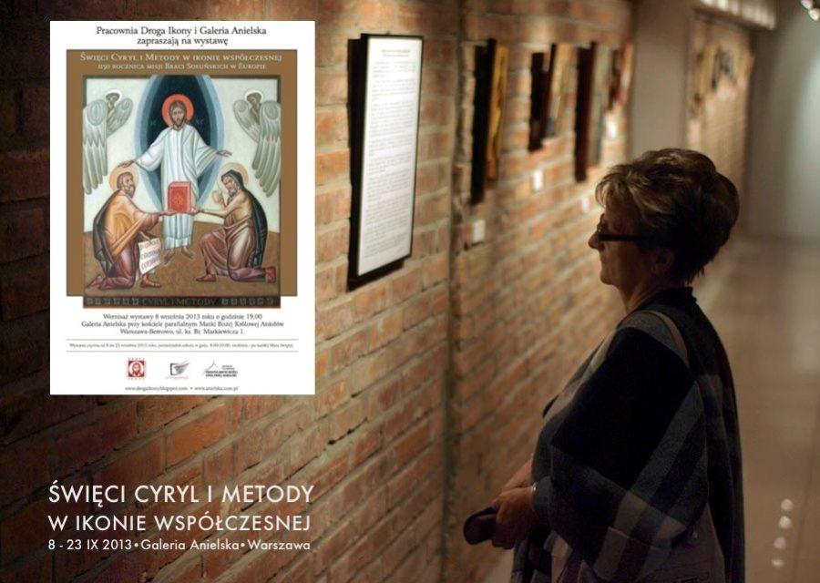 Wystawa ikon św. Cyryla i Metodego