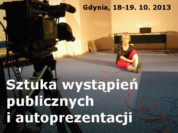 Kurs ze sztuki wystąpień publicznych