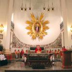 Pielgrzymowanie św. Andrzeja Boboli. (fot. ks. Aleksander Kiełbowski SJ)