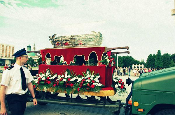 Pielgrzymowanie św. Andrzeja Boboli