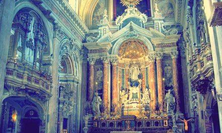 Msza papieska w int. św. Piotra Fabera