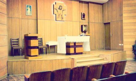 Poświęcenie nowej kaplicy w szpitalu MSW