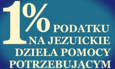 1% na jezuickie dzieła pomocy
