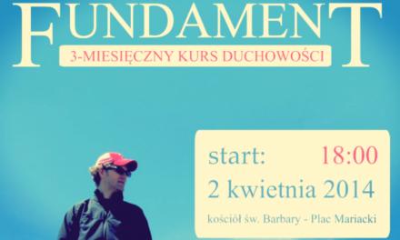 Fundament – kurs duchowości