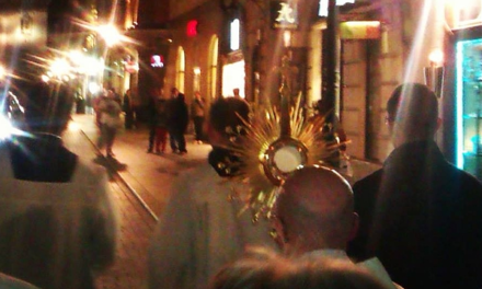 Chrystus na Rynku – czyli Kraków wierzy