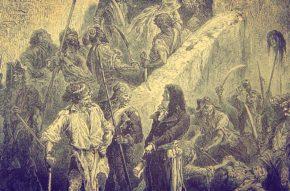 (fot. Męczennicy paryscy/ Les septembriseurs, autorstwa loki11 - l'illustration Européenne 1871 no.6 page 45. Licencja Public domain na podstawie Wikimedia Commons.)