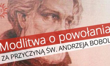 Modlitwa za przyczyną św. Andrzeja Boboli