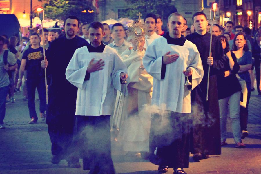 Chrystus na ulicach Krakowa