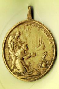 (Medalik z XVIII wieku)