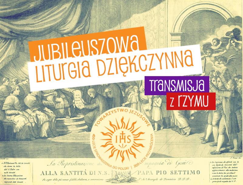 Jubileuszowa liturgia dziękczynna w Rzymie