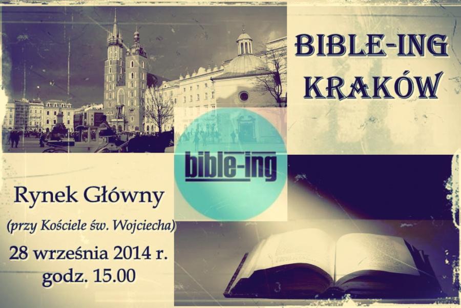 Bible-ing po raz kolejny w Krakowie!