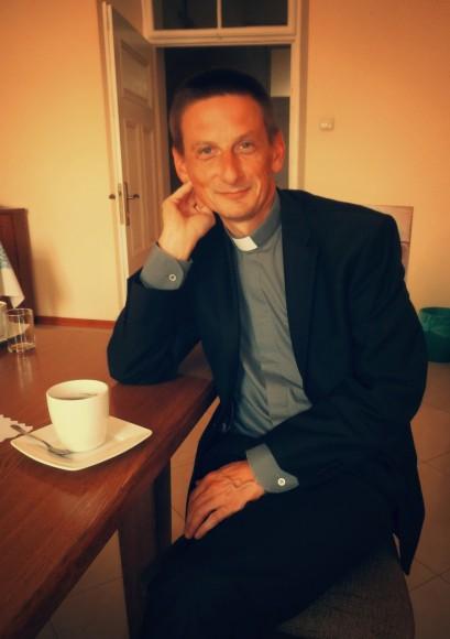 Prowincjał Jakub Kołacz SJ. (fot. Agnieszka Dubiel)