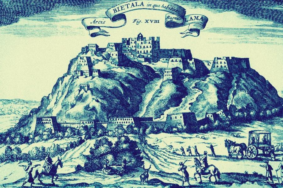 Jezuita odkrywcą Tybetu