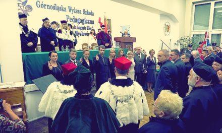 Inauguracja roku w nowej szkole jezuitów
