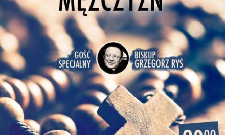 Bp Grzegorz Ryś na Mszy w int. mężczyzn