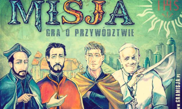 MISJA. Gra o przywództwie: gra planszowa jezuitów