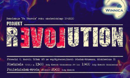 """Rekolekcje """"Rewolucja miłości"""""""