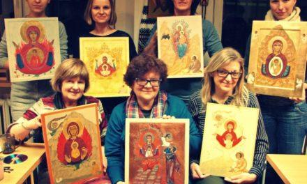 Warsztaty pisania ikon u jezuitów