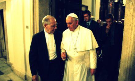 Papież odwiedził jezuitów