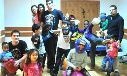 Półkolonie dla dzieci uchodźców