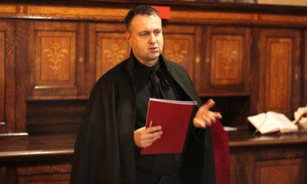 Uroczysta profesja zakonna o. Mariusza Hana SJ