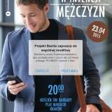 Zaproszenie: Msza Święta w intencji mężczyzn w Krakowie