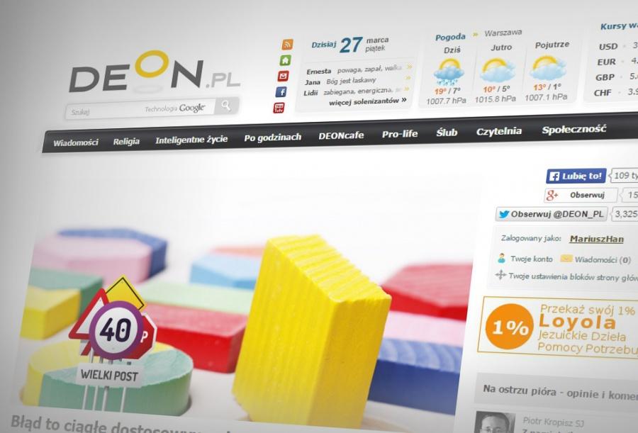 Sprawozdanie działalności DEON.pl – I kwartał 2015