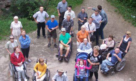 Piekoszów: Jezuici i osoby niepełnosprawne.