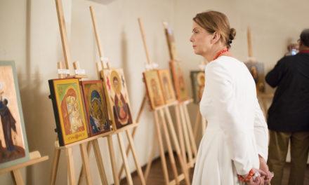 Media o wystawie ikon z jezuickiej pracowni