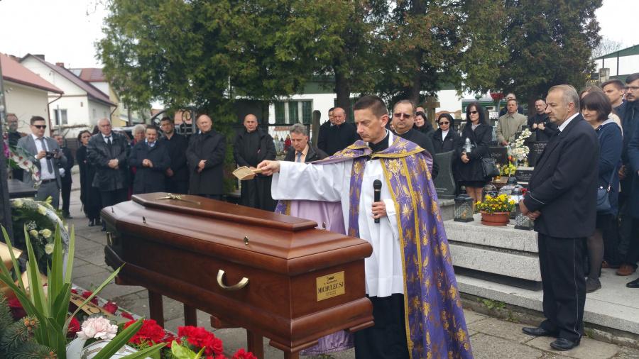 Pożegnanie o. Kazimierza Michulca SJ