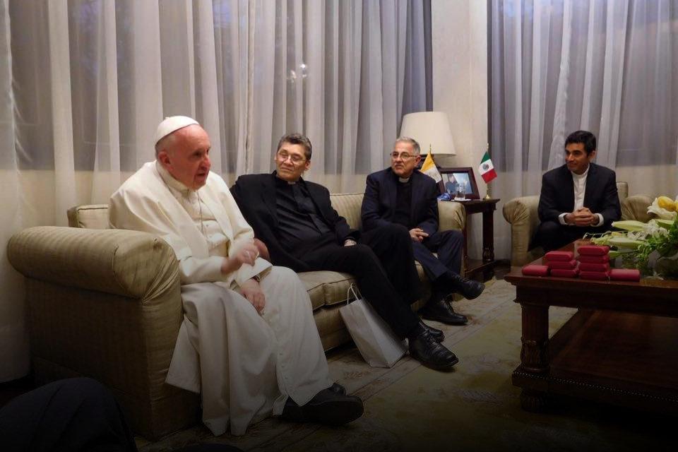 Meksyk: Braterskie spotkanie Franciszka z jezuitami [GALERIA]
