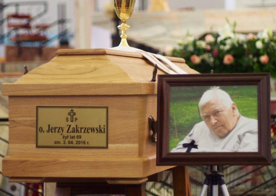 Warszawa: pożegnanie o. Jerzego Zakrzewskiego SJ