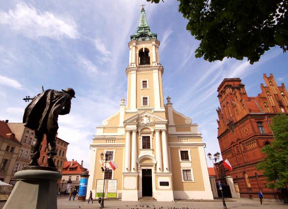 Wyróżnienie dla kościoła w Toruniu