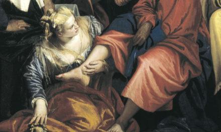 Faryzeusz i grzesznica