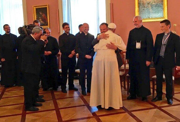 Polscy jezuici na spotkaniu z Franciszkiem
