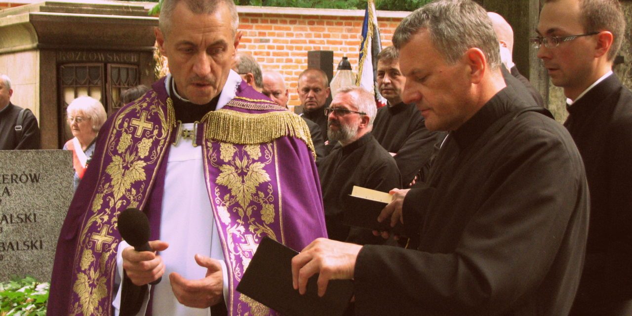 Ostatnie pożegnanie o. Andrzeja Polasika SJ (1948 – 2016)