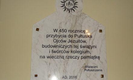 Jezuicka tradycja w Pułtusku [GALERIA]