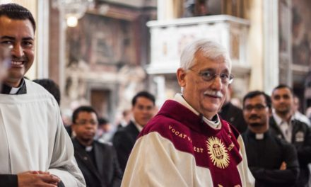 W jakim kierunku pójdą jezuici? – homilia o. Artura Sosy SJ   36 KG