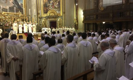 Zakończenie 36. Kongregacji Generalnej: jezuici mają być szafarzami pojednania | 36 KG