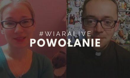 #WiaraLive: dziś o 22:00 Piotr Kropisz SJ i Majka Moller na żywo odpowiedzą na pytania o powołanie