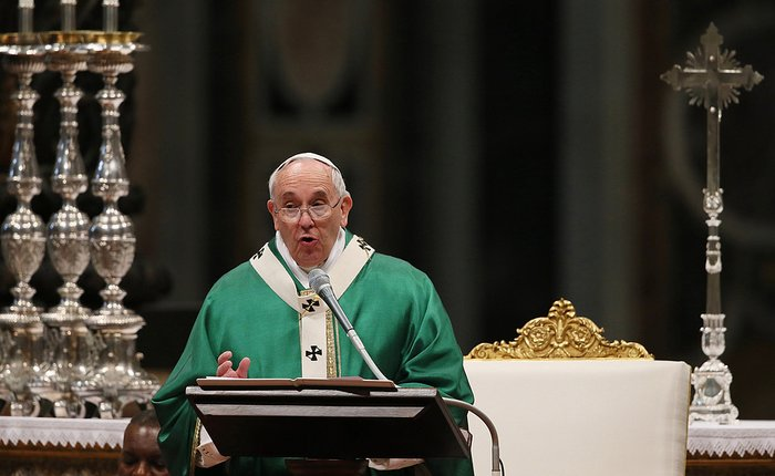 Sekret papieskich homilii